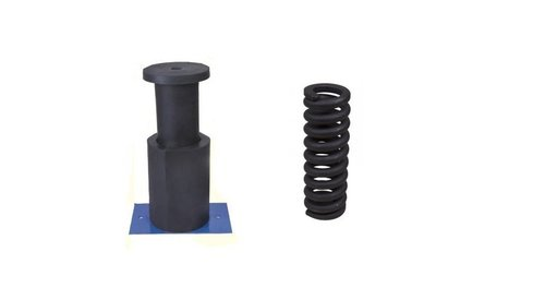 Rubber Buffer And Spring