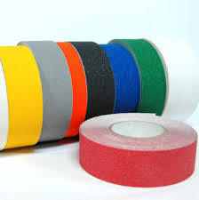 Yellow Safety Walk Skid Tapes