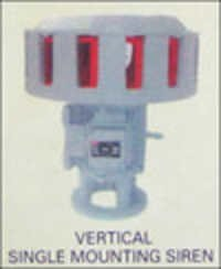 Vertical Single Mounting Pure Ac Siren