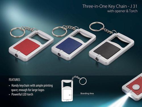 Three in One Keychain