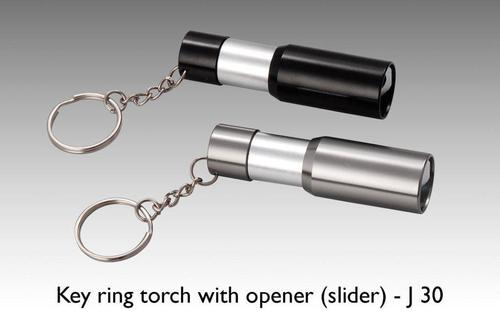 Key Ring Torch With Opener