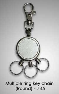 Multiple Ring Key Chain (Round)