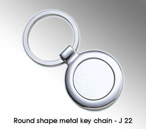 Round Shapemetal Key Chain
