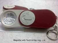 Magnifire With Torch And Ring - J 4