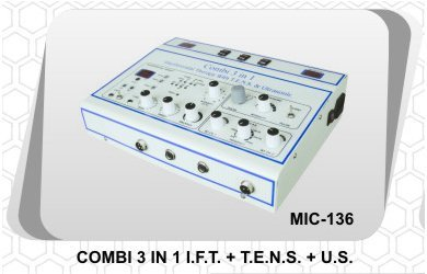 Combination Therapy 3 in 1 (IFT + TENS + US)