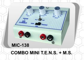 Mini TENS Combo Machine