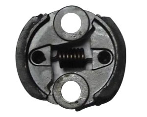 sprayer clutch shoe with bolts
