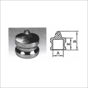 Camlock Dust Plug Coupling