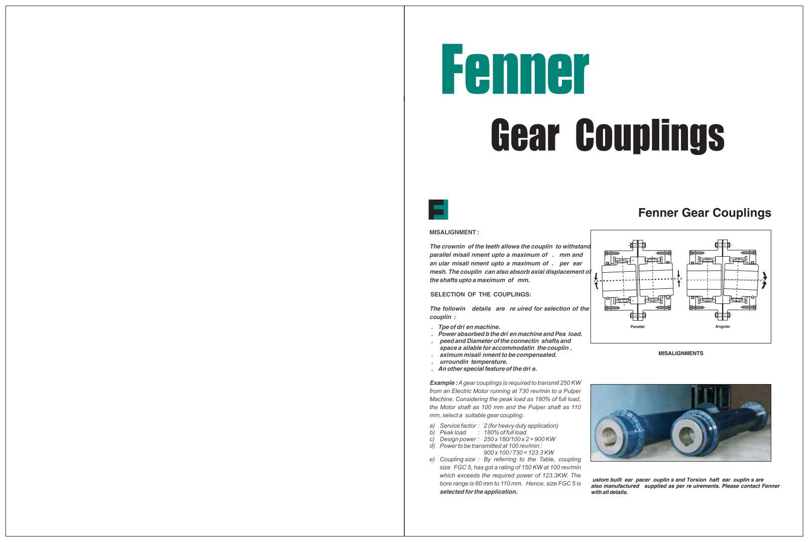Gear Couplings