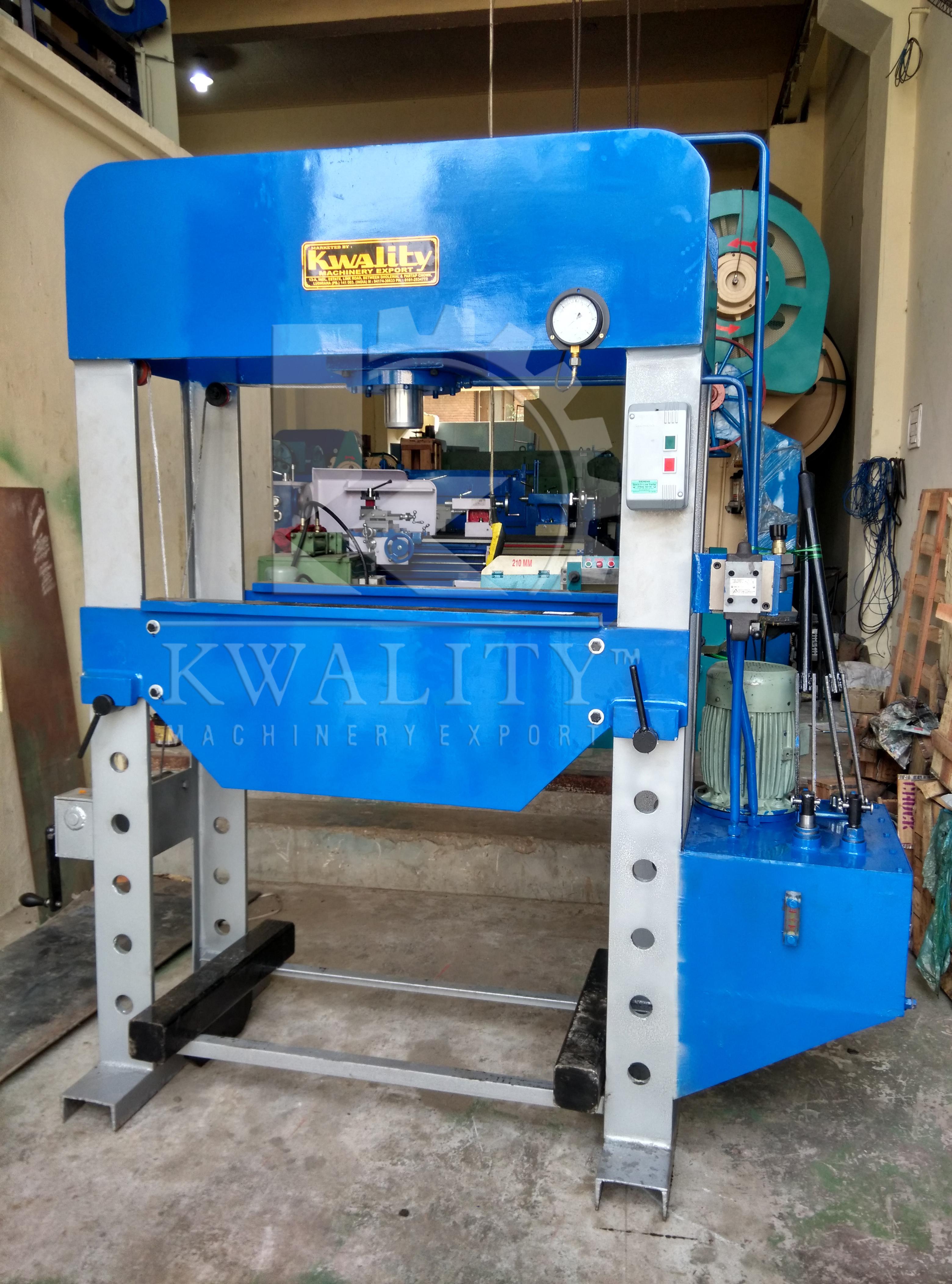 Dimensions Hydraulic Press