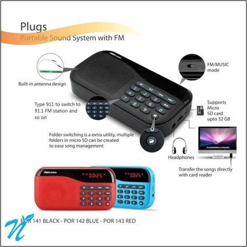 Poratable Sound System with FM