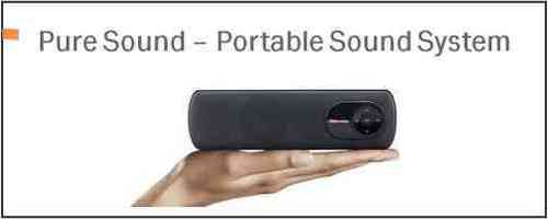Pure Sound Portable Speaker