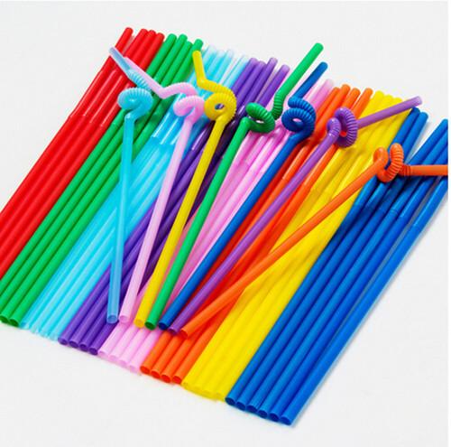 Single bend Plastic Straw