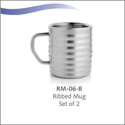 Ribbed Mug