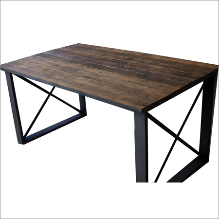 Vintage Style Industrial Table