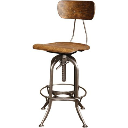 Vintage Style Industrial Chair