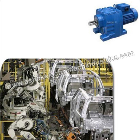 Helical Gear Motor for Automobile Industry
