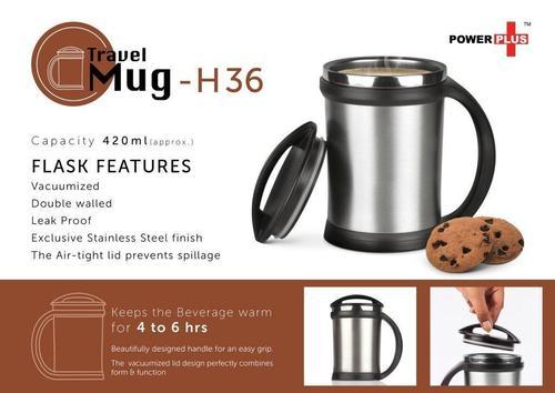 Power Plus Vacuumized Travel Mug