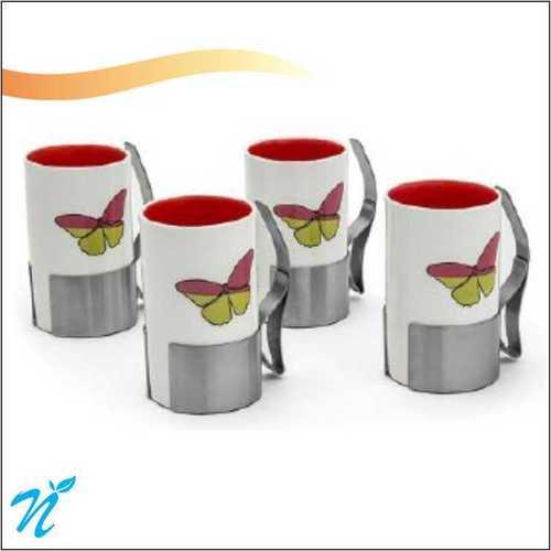 Enchanted Forest Flower Design Mug