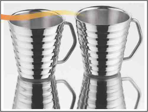 Conical Mug Ribbed