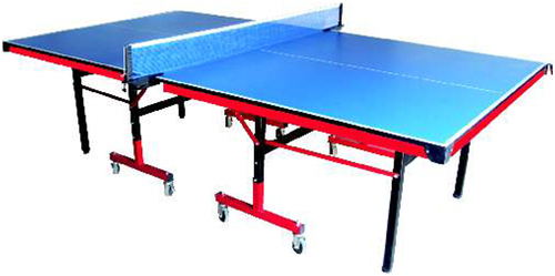 Table Tennis Table Thunder with Wheels