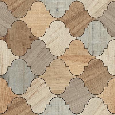 Matt Wooden floor tiles