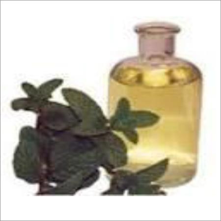 De mentholised Peppermint Oil Crude