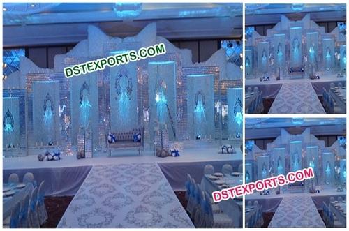 Wedding Crystal Backdrop Panel Stage Decors