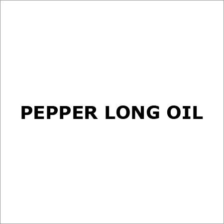 Pepper Long OIl