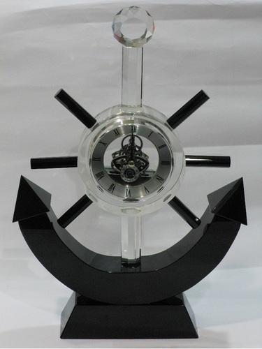 Crystal Anchor Clock