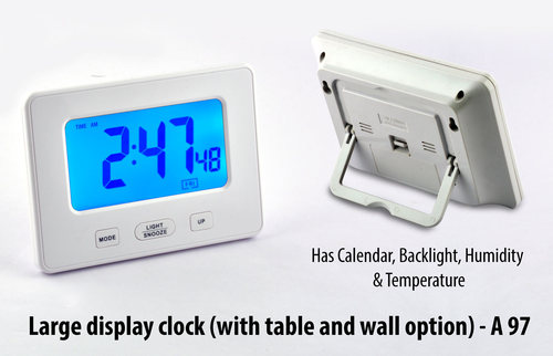 Large display clock (with table and wall option)