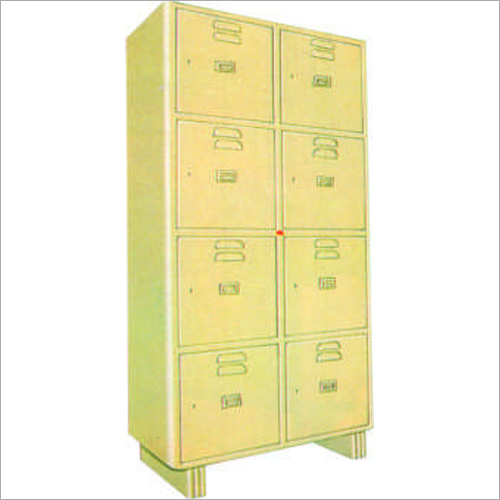 8 Locker Cabinet