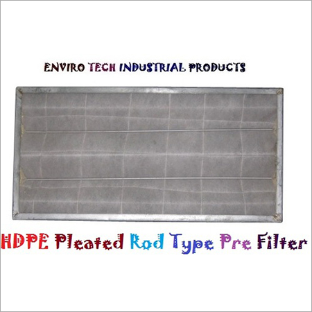 HDPE Pleated Rod Type Pre Filter