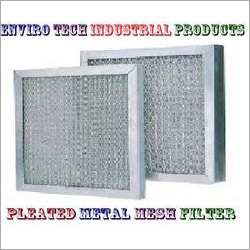Pleated Metal Mesh Filter