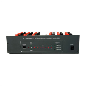 Remote PC Controlled AV Receiver Speaker Switcher