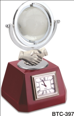 Table Clock (Silver)
