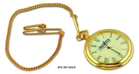 Golden Brass Pocket Watch Chain