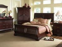 Fancy Wooden Bed