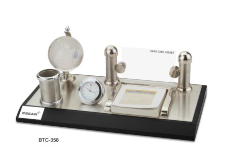Silver Brass Desktop Article