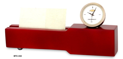 Table Clock with Card Holder