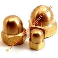 Brass Cap Acorn Nuts