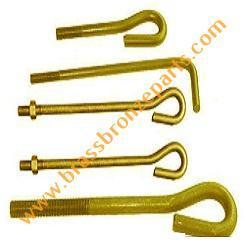 Brass Foundation Bolts