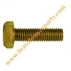 Brass Metric Bolts