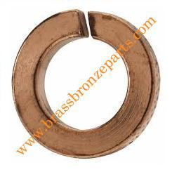 Brass Split Lock Washers