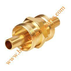 Brass Air Brake Hose Union Only