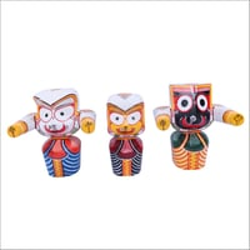 Lord Jagannath Wooden idols
