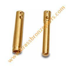Brass Plug Pin Round