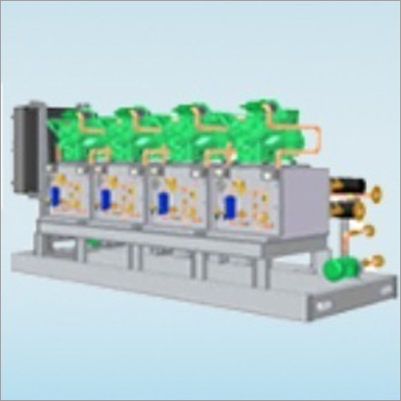 Low Temperature Chillers With Booster