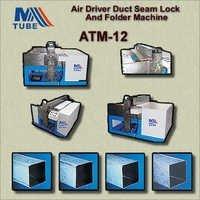 Air Driver Duct Seam Lock And Folder Machine