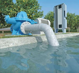 Water Management and Pumping System Automation and Control Panel